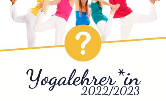 Ausbildung zur Yogalehrer*in – Infotermine 2021